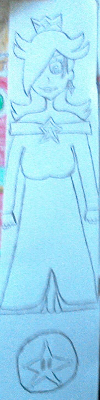 A random Rosalina sketch by The-Rosalina-Guru