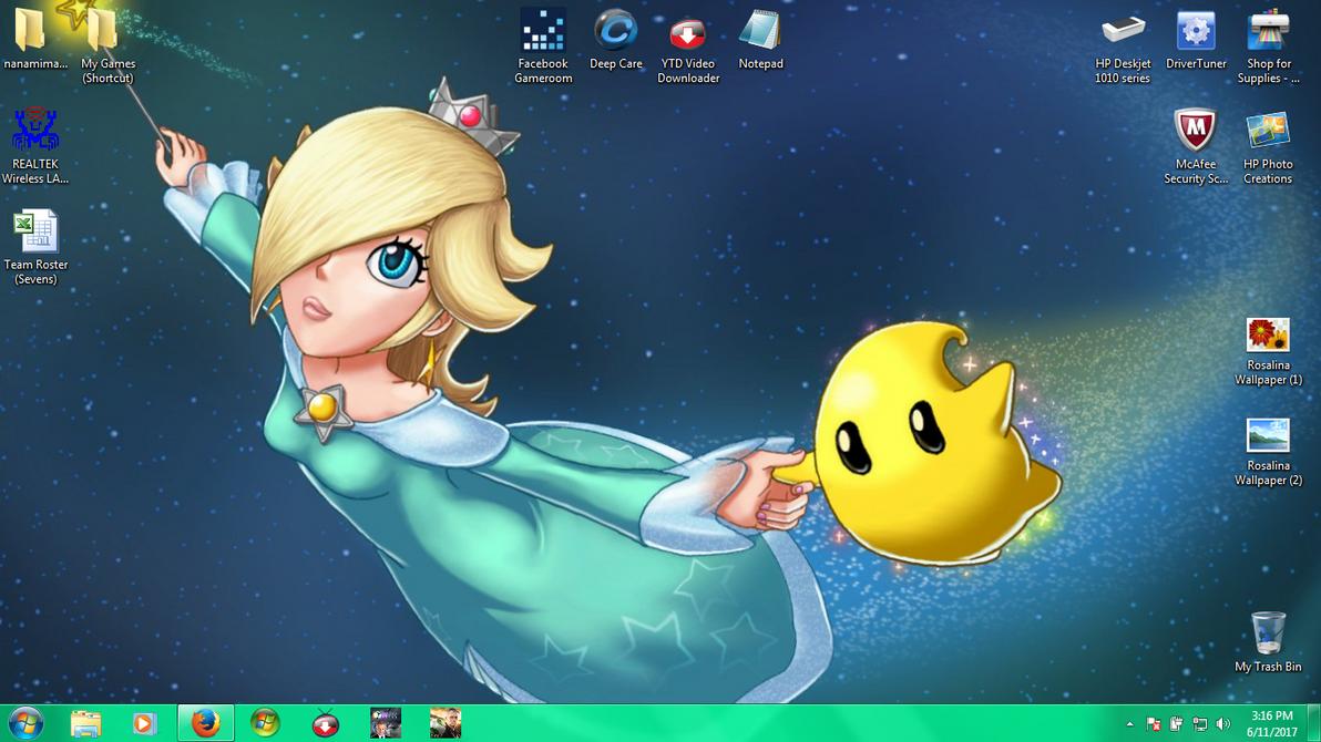My Desktop by The-Rosalina-Guru