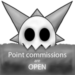 :stamp: Skull - point commissions are open by TheFailedDream