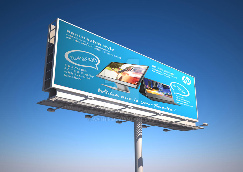 Highway+Billboard+Mockup 2 by aathif