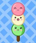 Cute Food- Dango