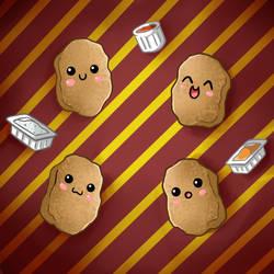 Cute Food- Chicken Nuggets