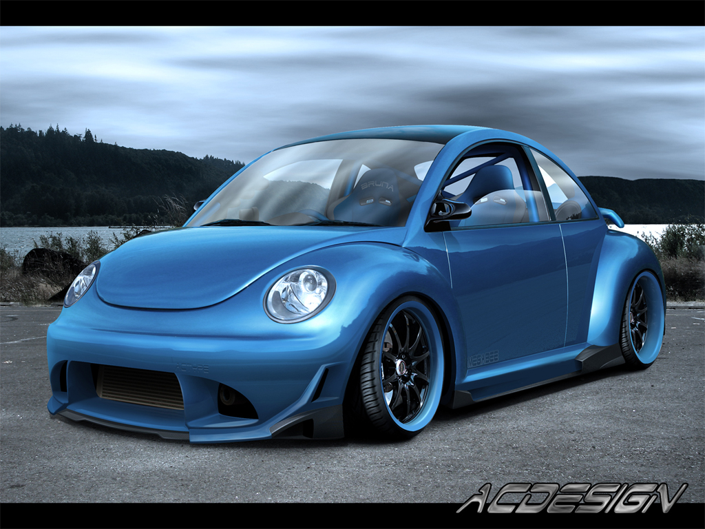 vw new beetle by ac design on deviantart. Black Bedroom Furniture Sets. Home Design Ideas