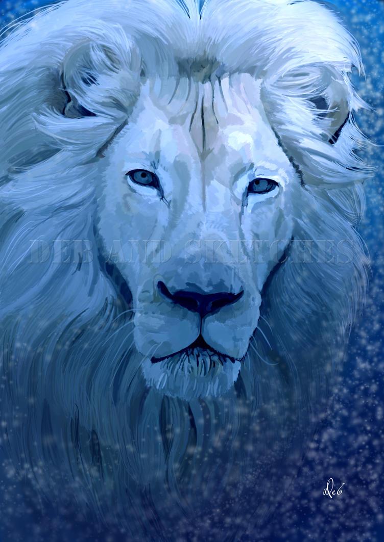 Lion De Glace by debandsketches