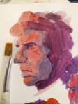 Sherlock Paint-Sketch