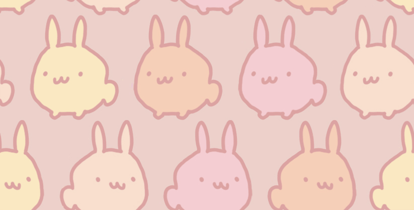 Kawaii Desu Bunny Tile By Genicecream On Deviantart