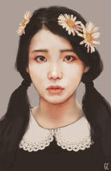 flower girl by genicecream