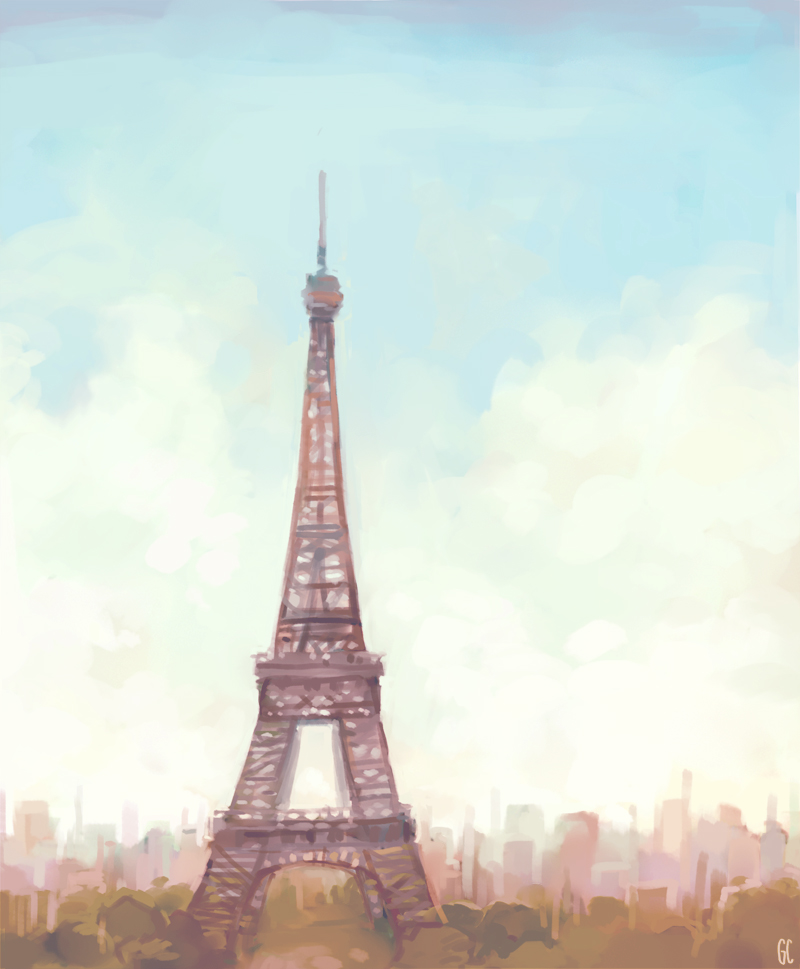 Eiffel tower by genicecream on deviantart eiffel tower by genicecream thecheapjerseys Choice Image