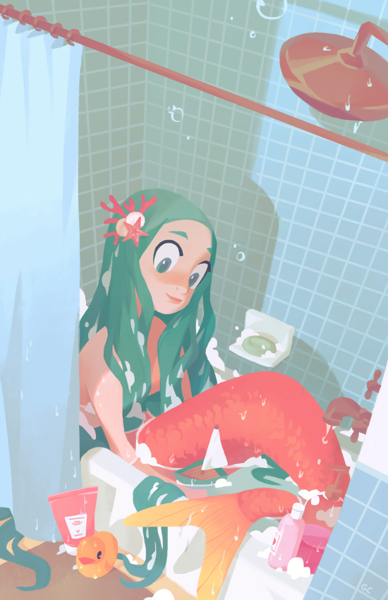 bath time by genicecream