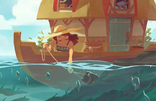 boat house by genicecream