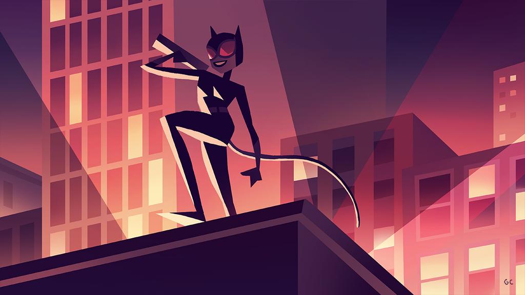catwoman (2/3) by genicecream