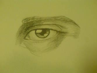 eye practice pencil by keitaru-san