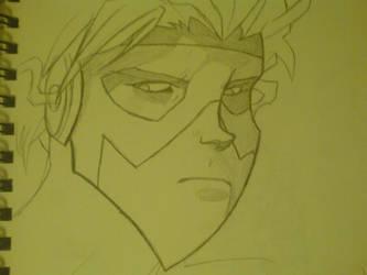 sketching kid flash by keitaru-san