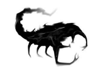 scorpion sketch by keitaru-san
