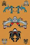 Haida Sea Creature Medley
