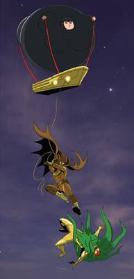 Midnight Owl: Rescuing She-Blimp