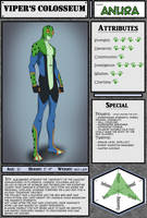 Viper's Coloseum: ANURA Reference Sheet
