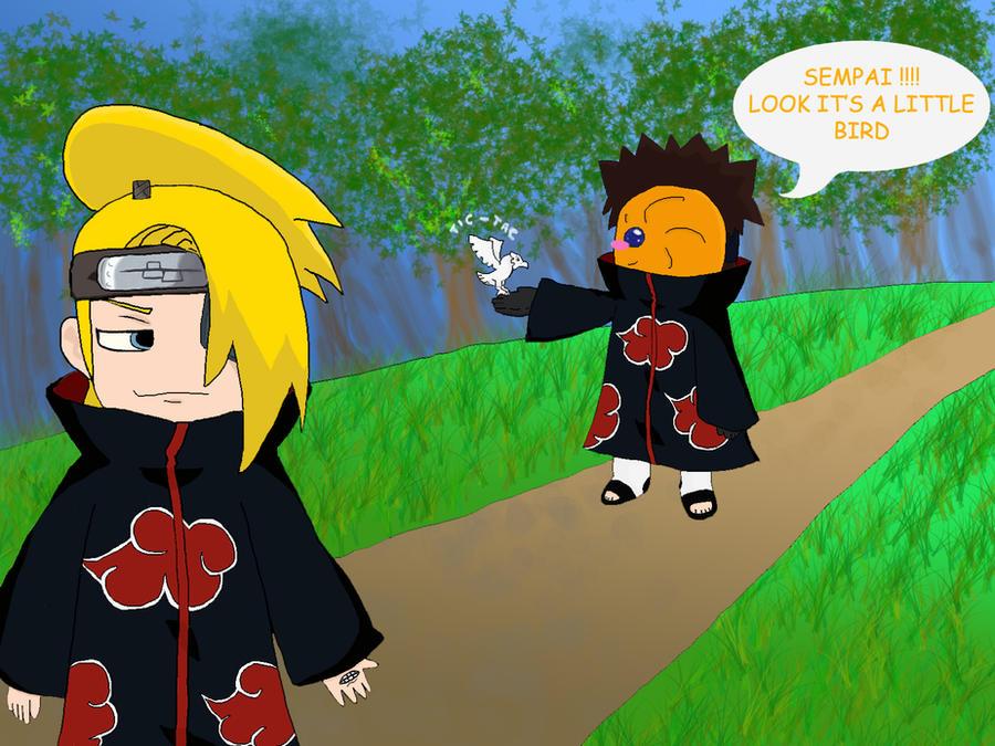Juste pour rire - Page 2 Deidara_wants_kill_tobi_by_kakashi_rin_obito-d2x2mza