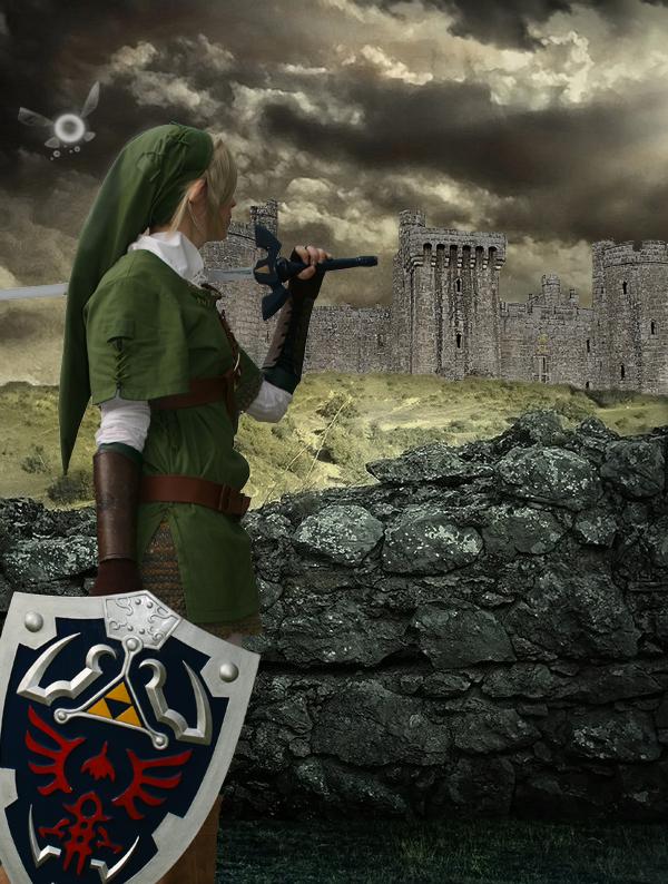 Link: The Hero Of Time by TeardropOfAngel