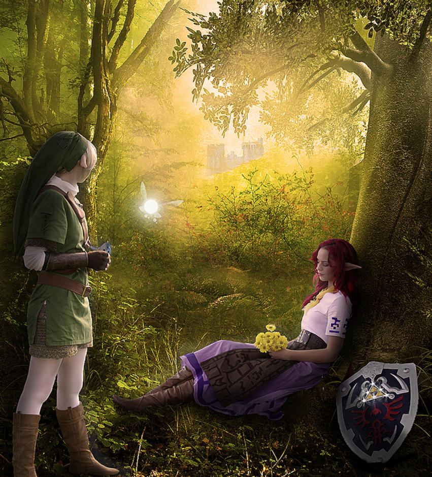 Legend Of Zelda: Old Friends' Meeting by TeardropOfAngel