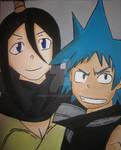 Black Star and Tsubaki