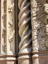 Detail: Orvieto cathedral