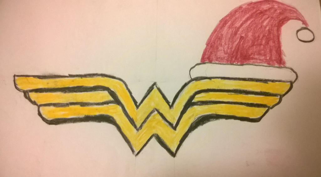 Merry Christmas from Wonder Woman by Divarose