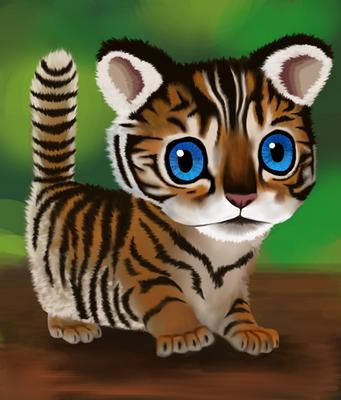 Tiger Cub by EternallyIgnorant