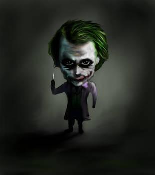 Daily Fan Art #17 Chibi Joker by EternallyIgnorant