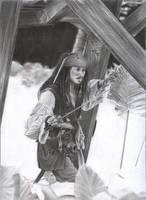 Jack Sparrow WIP 6 by D17rulez