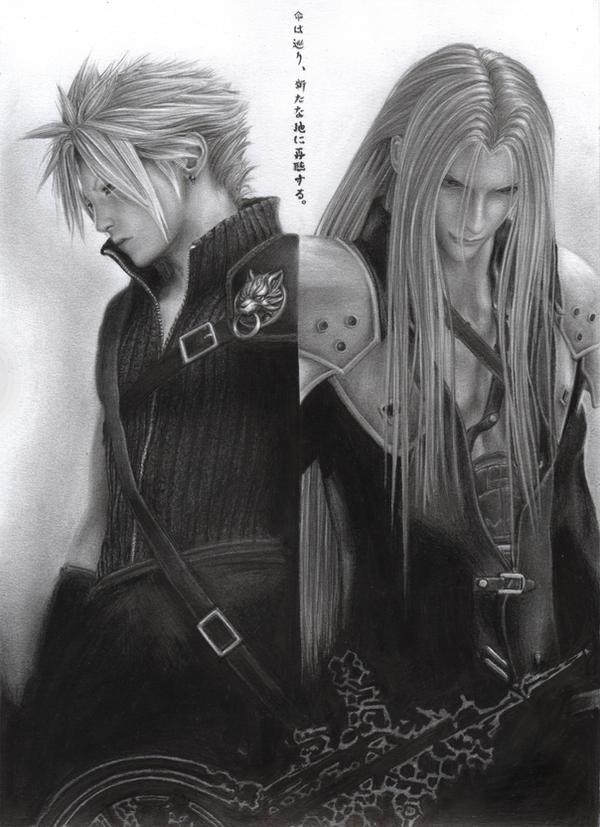 Final fantasy Final_Fantasy_Cloud_Sephiroth_by_D17rulez