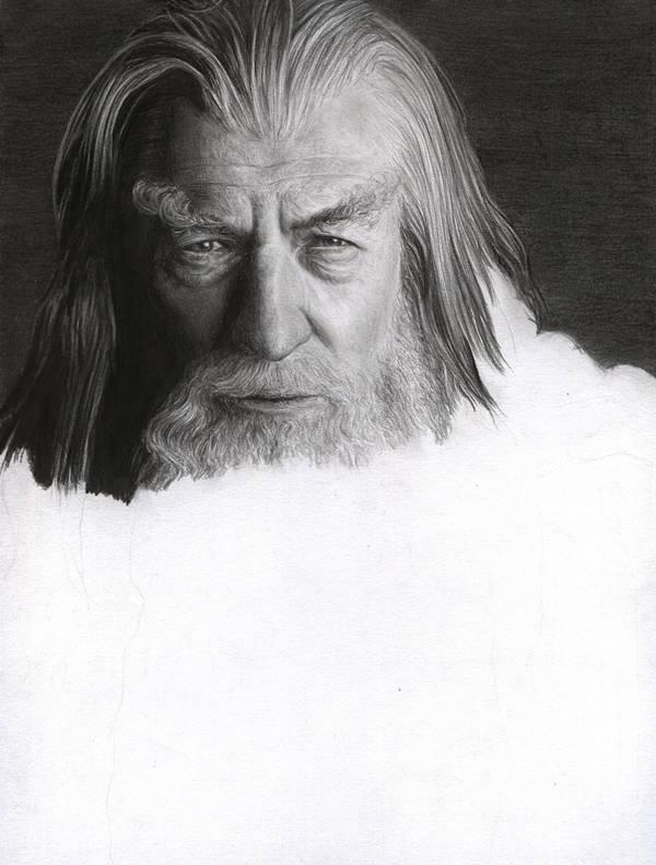 Gandalf the Grey WIP 5 by D17rulez