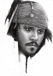 Capt Jack Sparrow WIP 5 by D17rulez