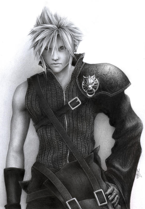 Final Fantasy - Cloud Strife by D17rulez
