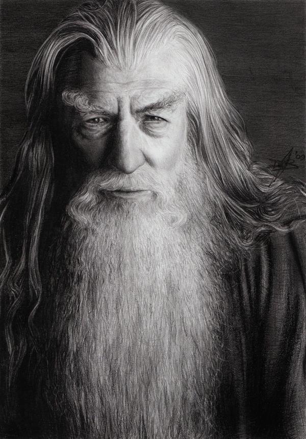 Gandalf the Grey by D17rulez