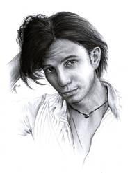 Jackson Rathbone Sketch by D17rulez