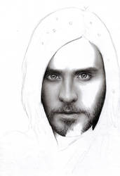 Jared Leto WIP 1 by D17rulez