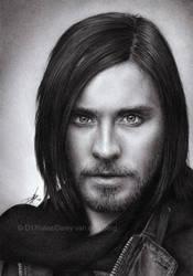 Jared Leto Pencil Drawing
