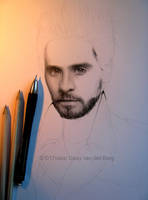 Drawing of Jared Leto WIP 2 by D17rulez