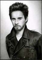 Jared Leto - Pencil Drawing by D17rulez