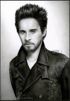 Jared Leto - Pencil Drawing