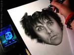 Drawing of Billie Joe Armstrong WIP 3