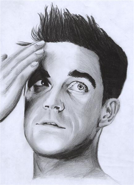 Robbie Williams by D17rulez