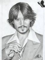Johnny Depp by D17rulez