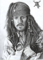 Capt. Jack Sparrow by D17rulez