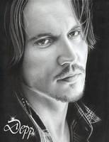 Johnny Depp 3 by D17rulez