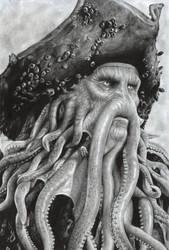 Davy Jones by D17rulez