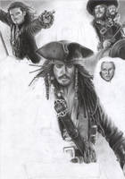 Pirates Of The Caribbean WIP 5 by D17rulez
