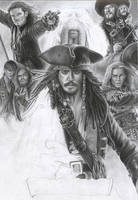 Pirates Of The Caribbean WIP 7 by D17rulez