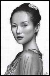 Zhang Ziyi by D17rulez
